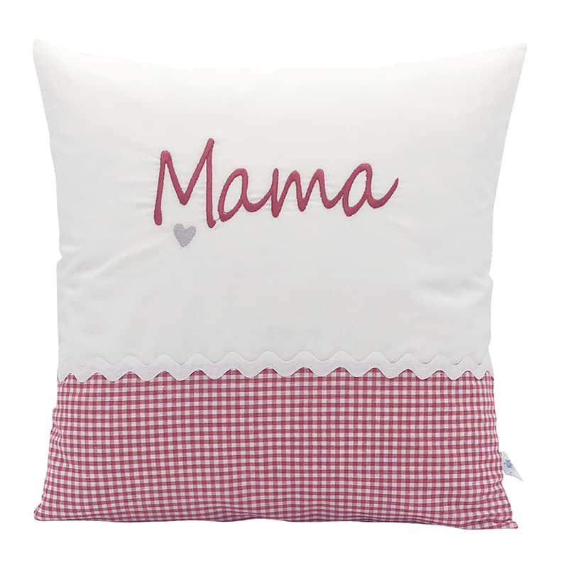 Die Gräfin Kissen zum Muttertag, Rot-Weiß